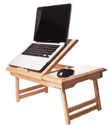 Table de lit pliable pour pc portable notebook comfortable - Support d ordinateur portable pour lit ...