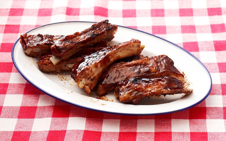 Balsamic Glazed Barbecued Ribs Recipe Balsamic Glaze Barbecue Ribs Cooking Recipes
