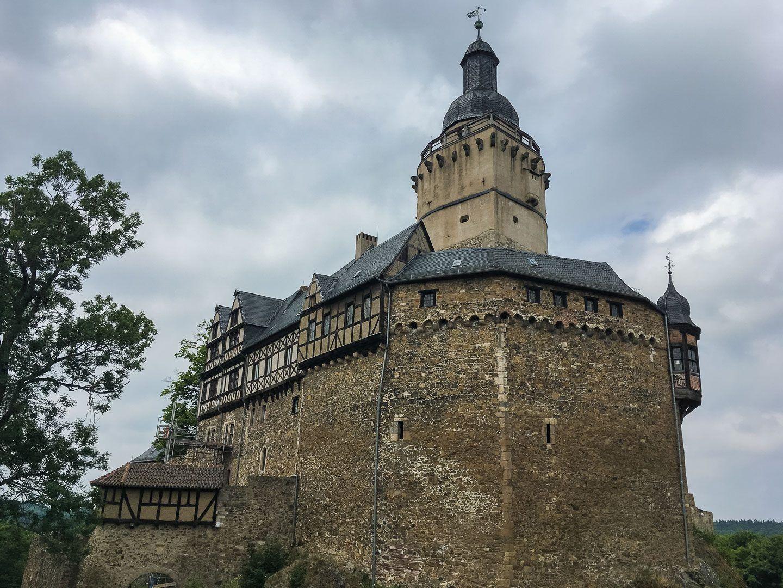 Mittelalter Im Harz Die Burg Falkenstein Burg Falkenstein Burg Mittelalterliche Burg