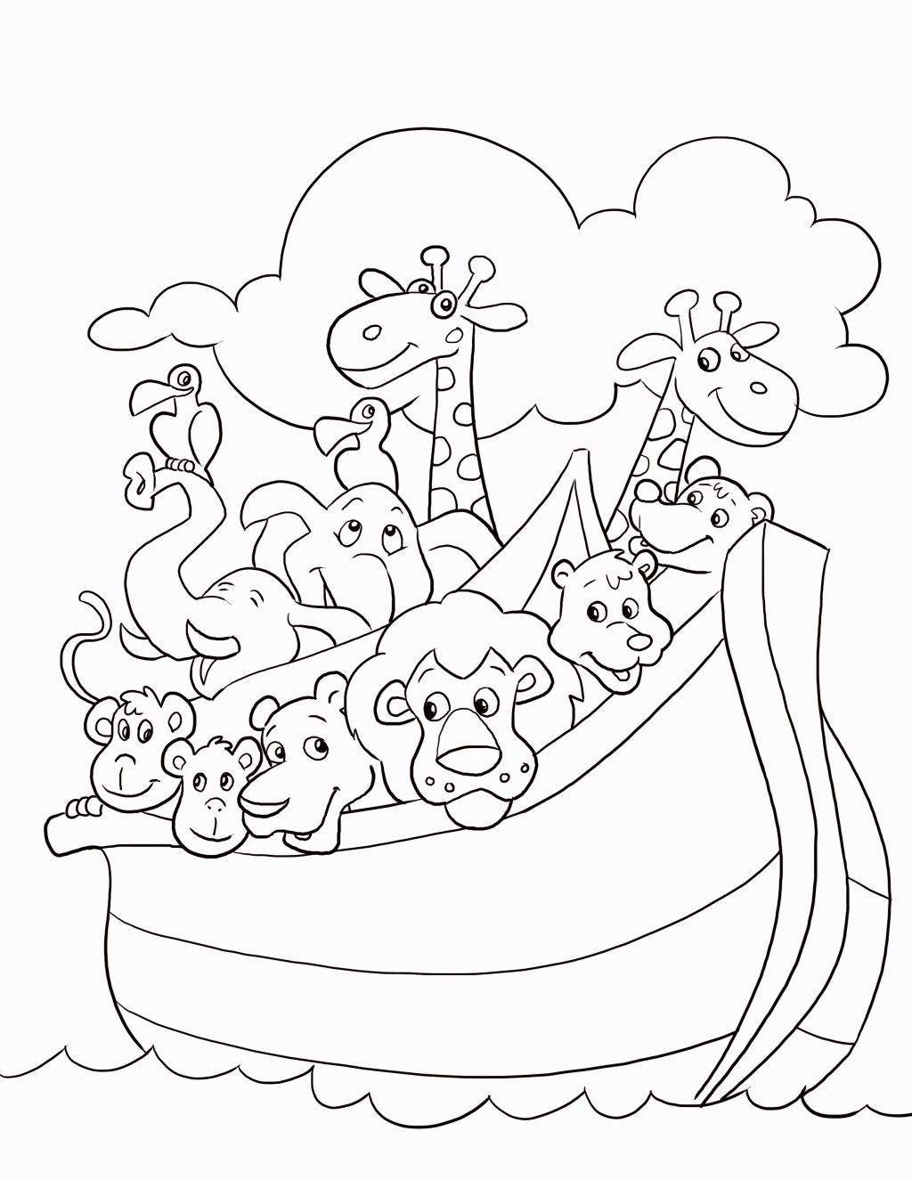 Christian Coloring Pages For Preschoolers