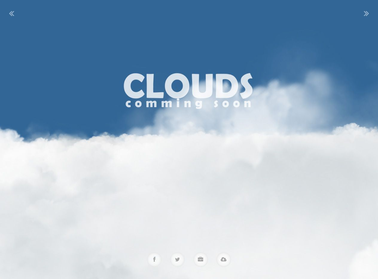 Clouds is Premium full Responsive #HTML5 Coming Soon Template. Retina Ready. WebGl. 3D. Interactive. If you like this #ComingSoon Template visit our handpicked list of best #ComingSoonWebsiteTemplates  at: http://www.responsivemiracle.com/best-responsive-coming-soon-website-templates/