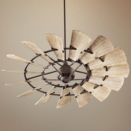 quorum windmill ceiling fan cabin style 60