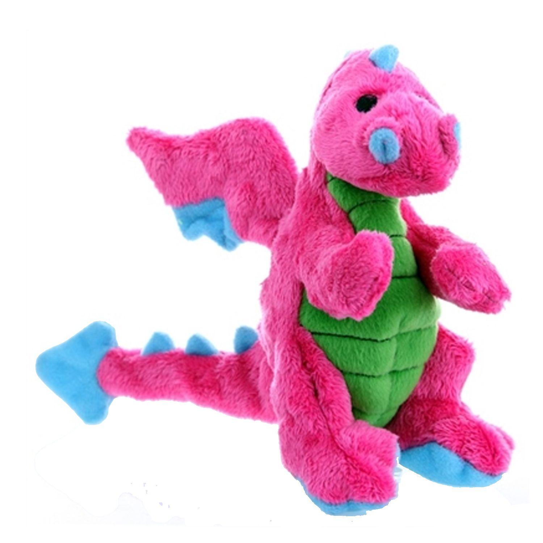 Godog Dragons Dog Toy Pink Plush Dog Toys Plush Dog Toy Puppies