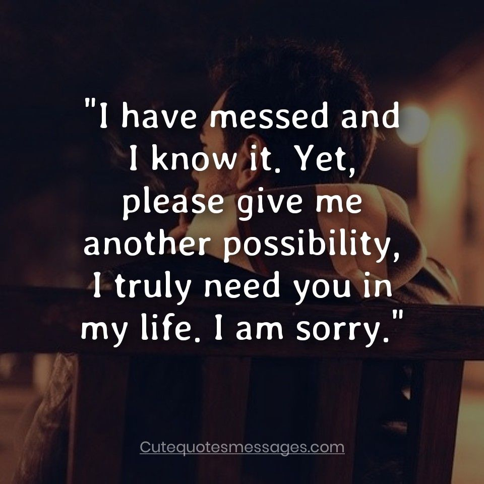 Am Sorry Quotes For Her