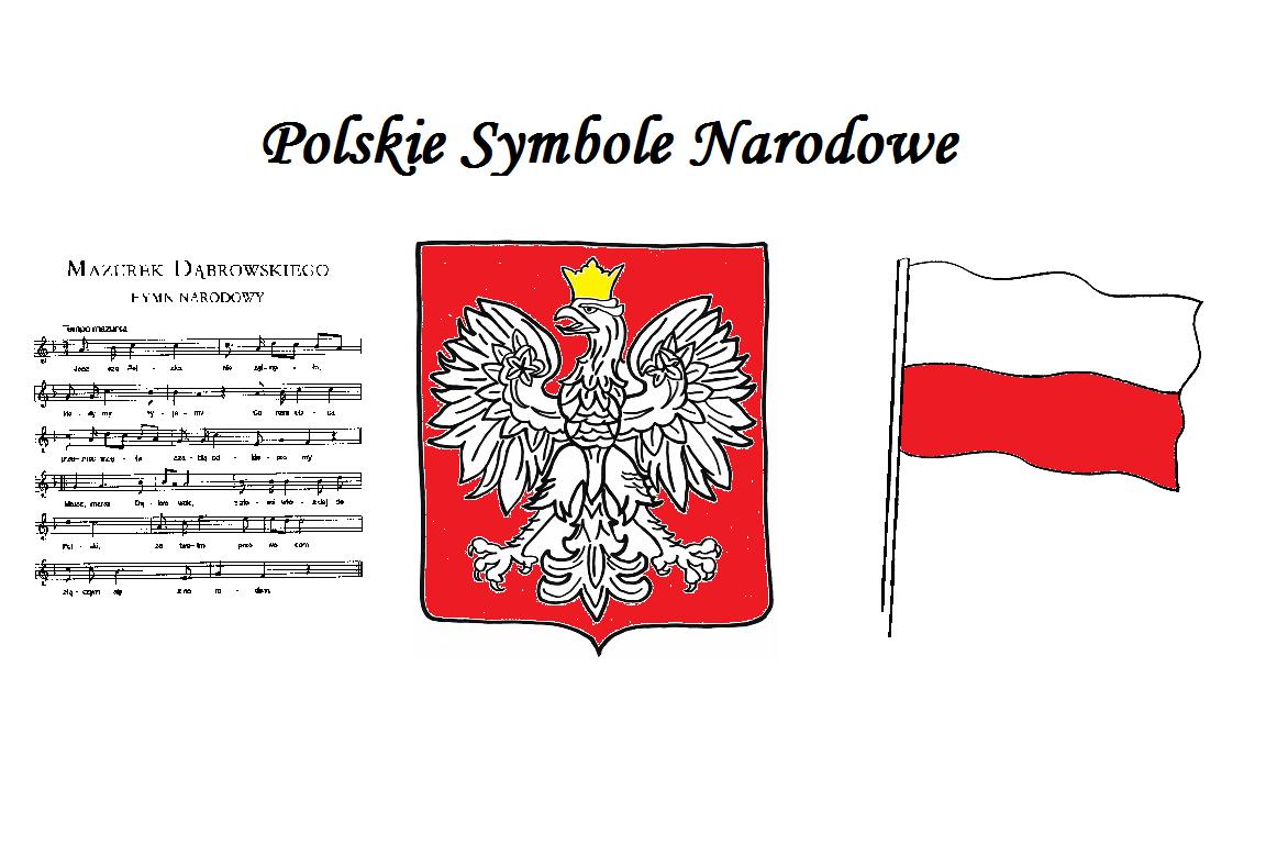 Symbole Narodowe Karty Pracy Moje Dzieci Kreatywnie School Decorations Education Preschool