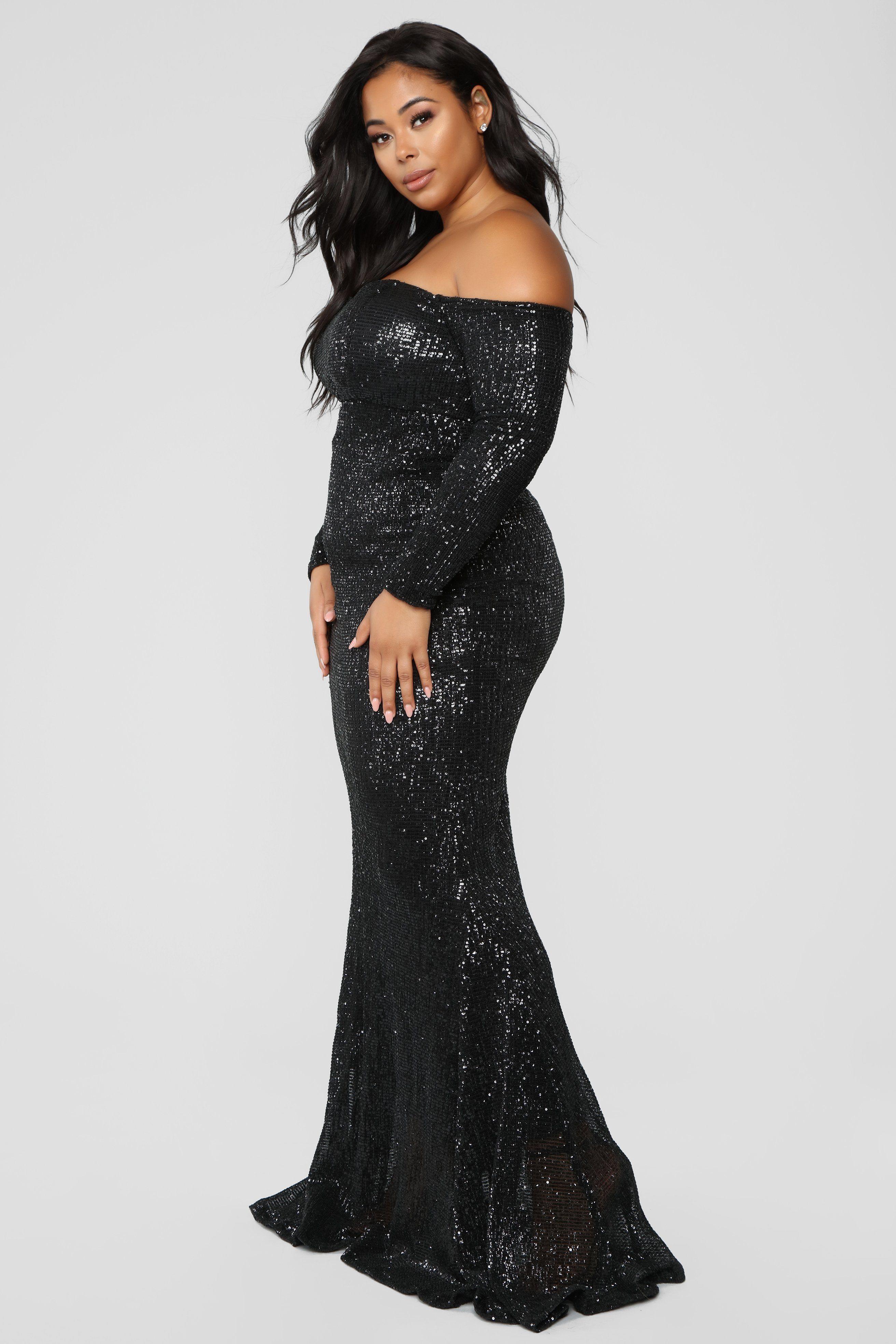 Got Class Sequin Dress Black Black sequin dress, Cheap
