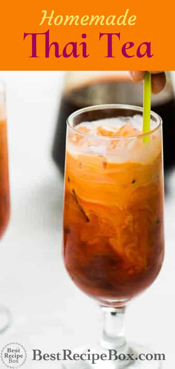 Thai Iced Tea Recipe Thai Tea RESTAURANT STYLE | Best Recipe Box