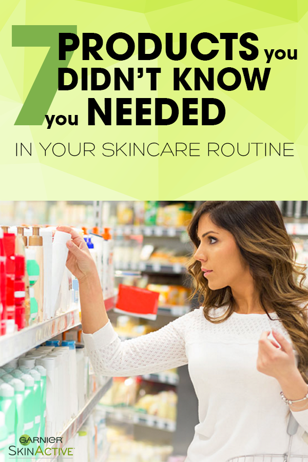 Garnier  7 Products You Didn't Know You Needed in Your Skin Care Routine