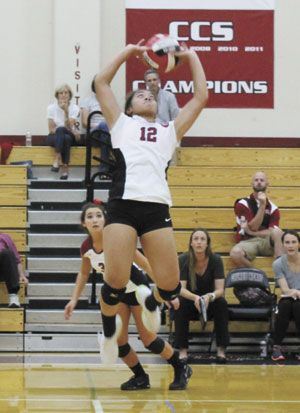 Sacred Heart Prep Downs Carlmont Smdailyjournal Volleyball Prep News Liilikateu Teuing Sacred Heart Sacred Prepping