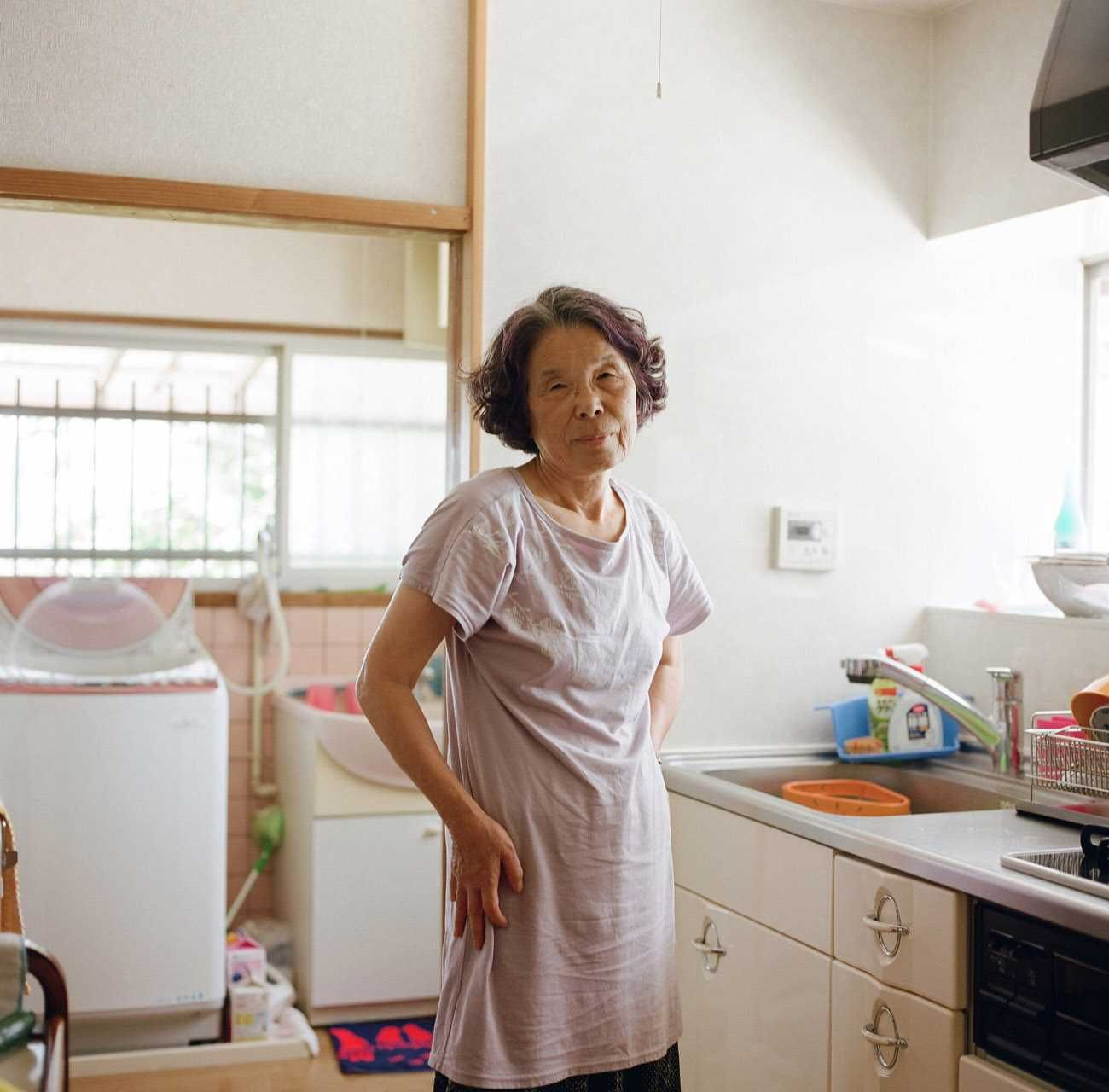 Mitsugetsu: The Beauty of Elderly Woman by Kenta Nakamura #inspiration #photography