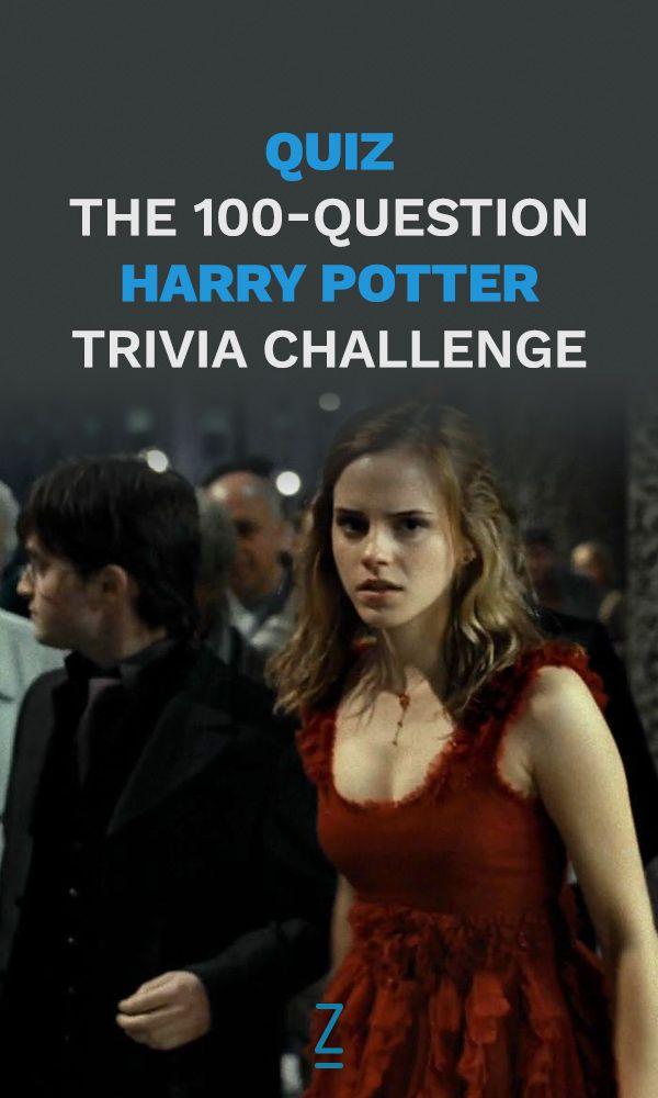 The 100 Question Harry Potter Quiz Harry Potter Harry