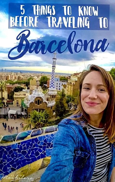 So youre traveling to Barcelona Spain Here are five things I wish I knew before heading there myself.