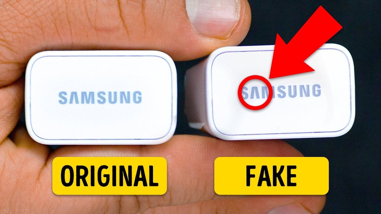 6 Tips To Help You Recognize Fake Gadgets Idea Life Hacks