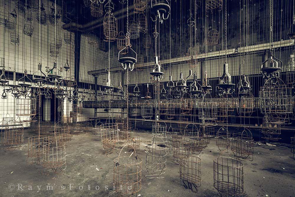 Zeche DT,mandjes,mijn,Duitsland,verlaten,mijnwerkers mandjes,urbex,abandoned,lost place