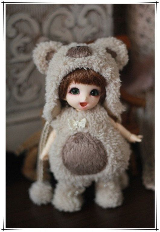 Bear Outfit For Lati Yellow or Pukifee by AngelGardenByChilly