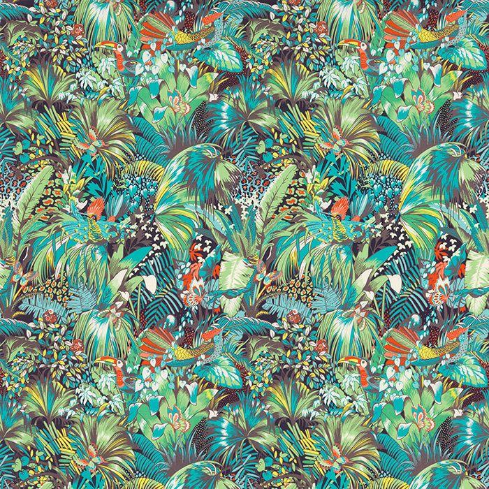 Les Plus Beaux Tissus Bleu Canard Tissus Tapisseries Et Papiers