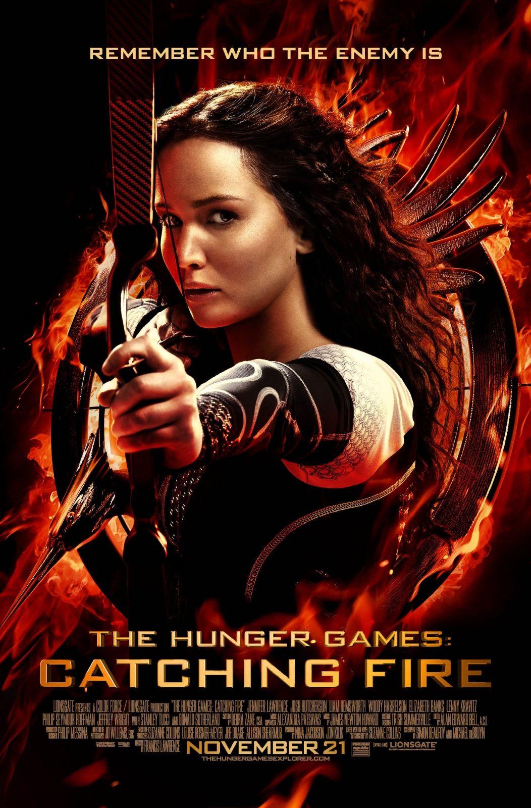 The hunger games - Catching fire | Filme, música e livros ...