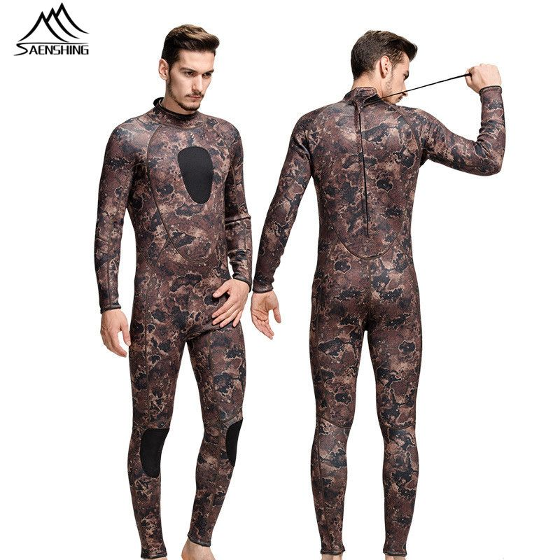 2ea1eed8220258 2016 diving suit for men 3mm unisex swimming surfing wetsuits elastic camo diving  suit Neoprene diving equipment for men hi-q(China (Mainland))