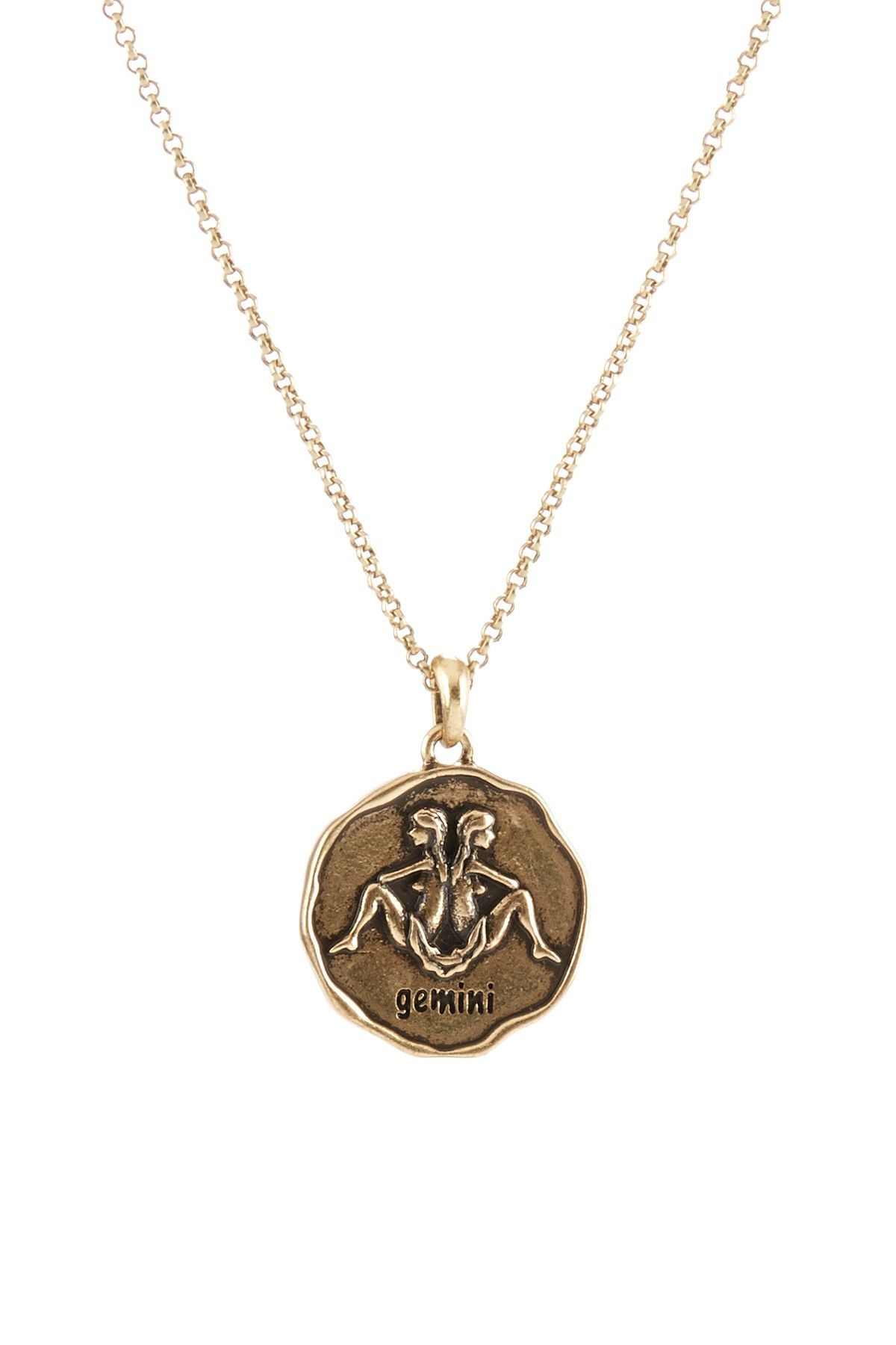 Zodiac gemini pendant necklace gemini lucky brand and nordstrom