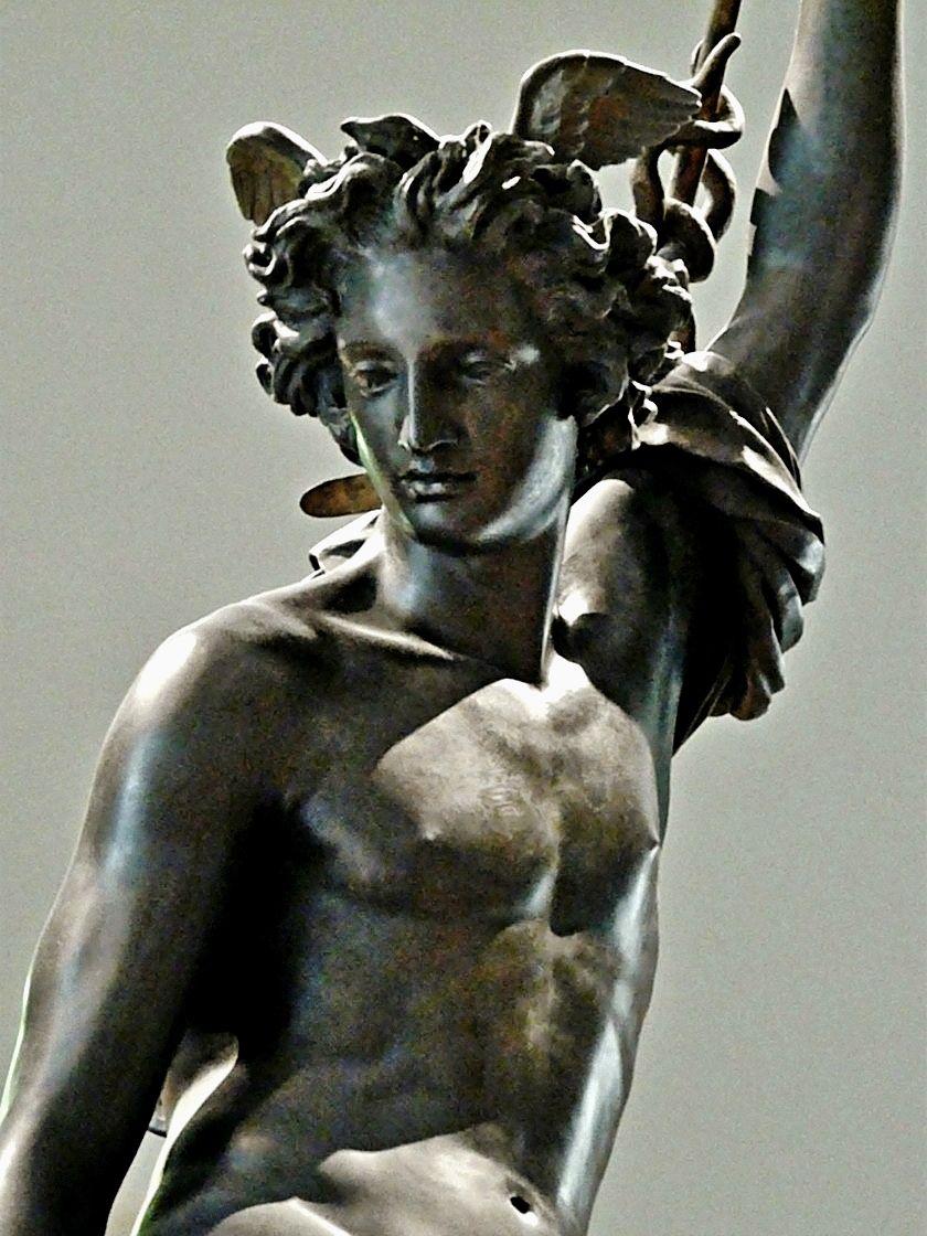 head of Hermes statue - Google keresés | Painted Ladies ...