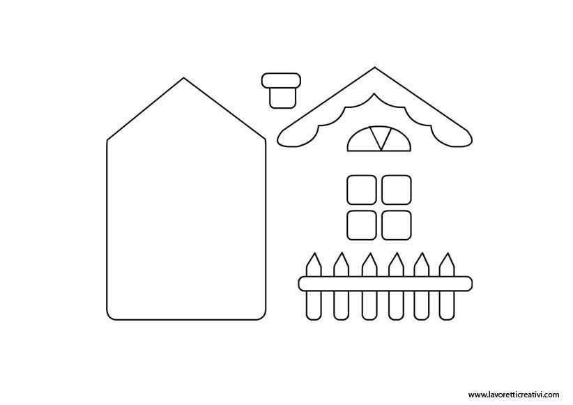 Sagome finestre di carta da ritagliare cerca con google for Modelli di case da costruire