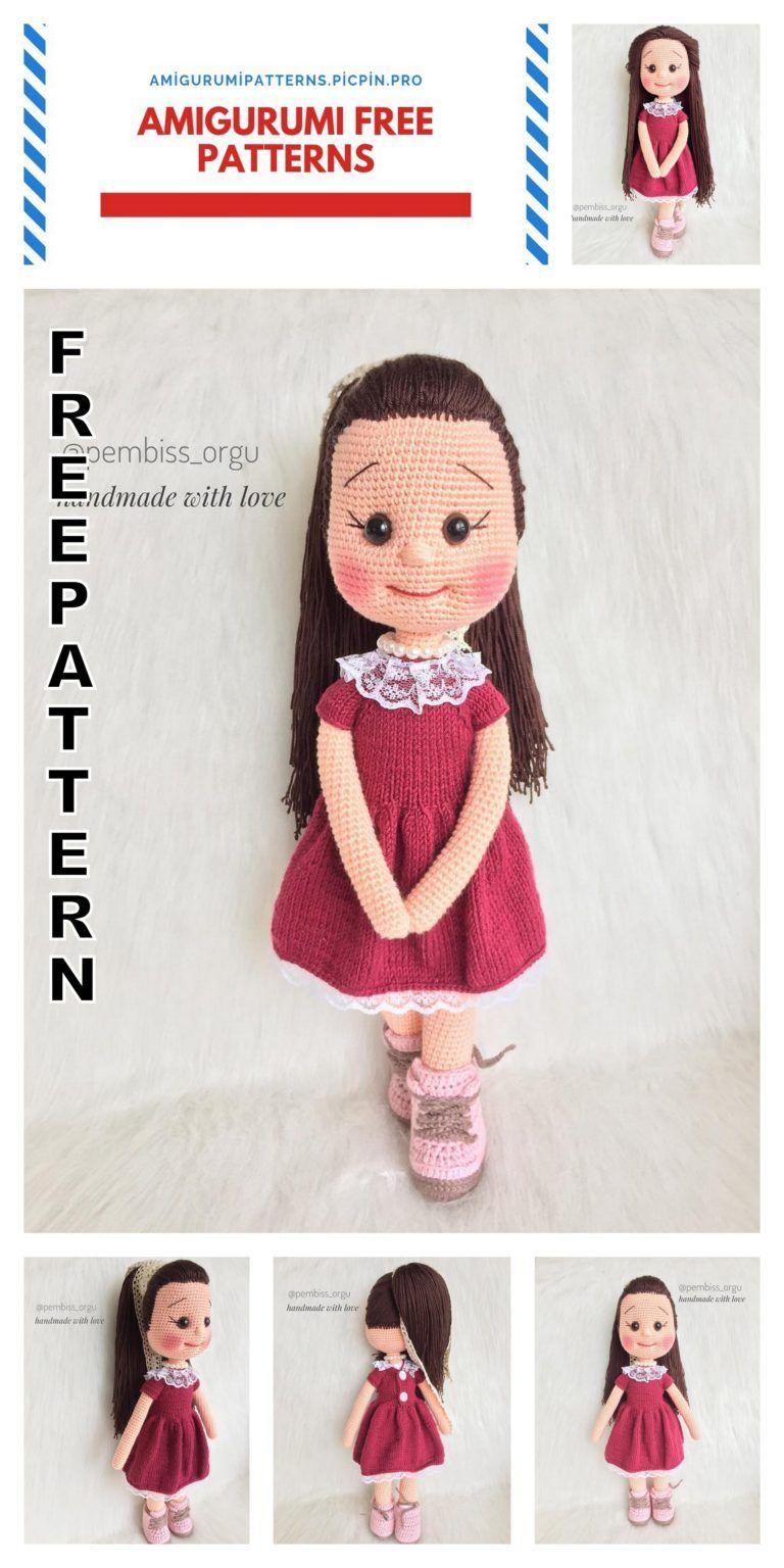 Boneca de crochê: +40 ideias com amigurumi fantásticas ... | 1536x768