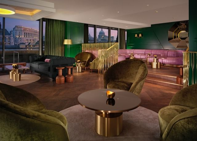 A luxury stay at an acclaimed Tom Dixon-designed hotel on the banks of the River Thames