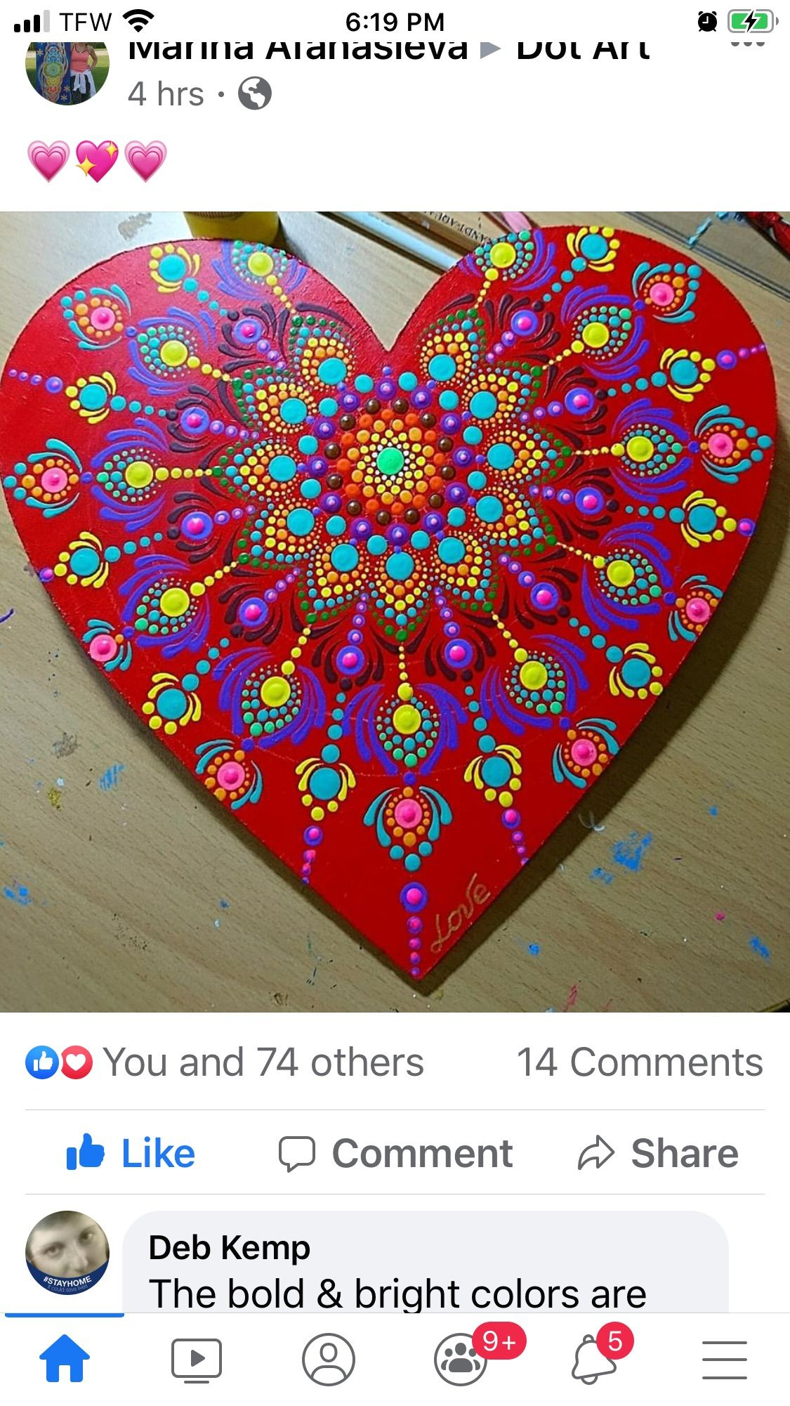 Pin By Marvelous Creations By Madonna On Mandala Samples In 2020 Stone Art Painting Dot Art Painting Mandala Dots