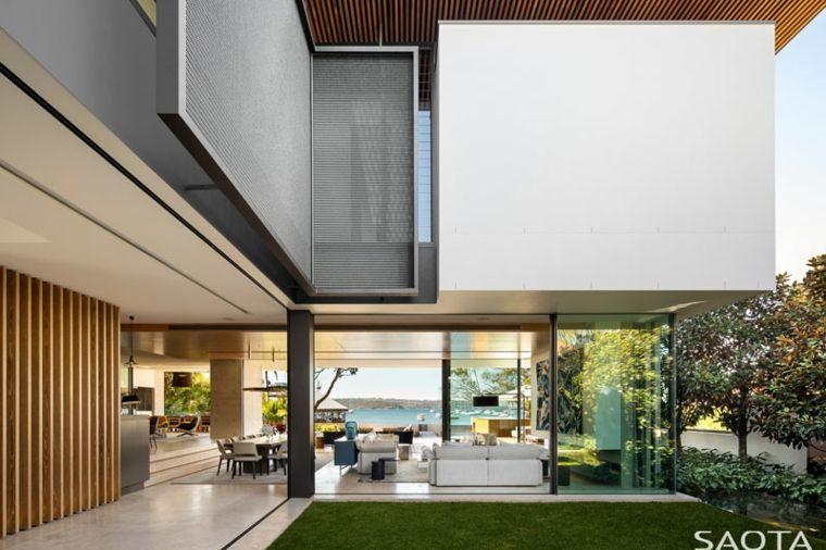 SAOTA, le cabinet d\'architectes a conçu la Double Bay house, une ...