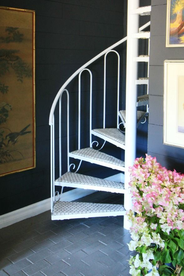 Best Diy Carpeting Spiral Stairs With Images Carpet Stairs 640 x 480