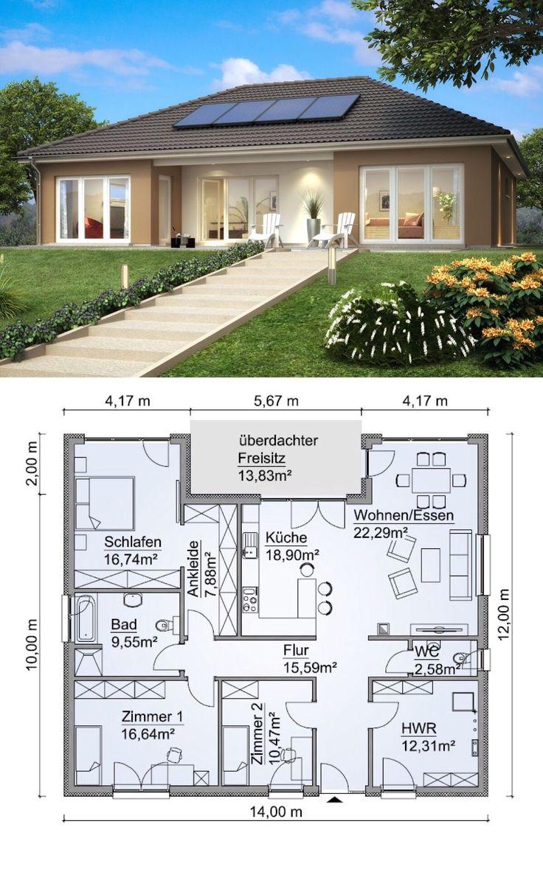 Clasic Bungalow Barieră De Planșeu Barieră Plan Rustichomeideas Site Plansdemaisonatypique En 2020 Casas Modulares Casas Disenos De Casas
