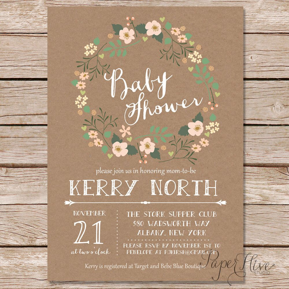 25 rustic baby shower ideas resource