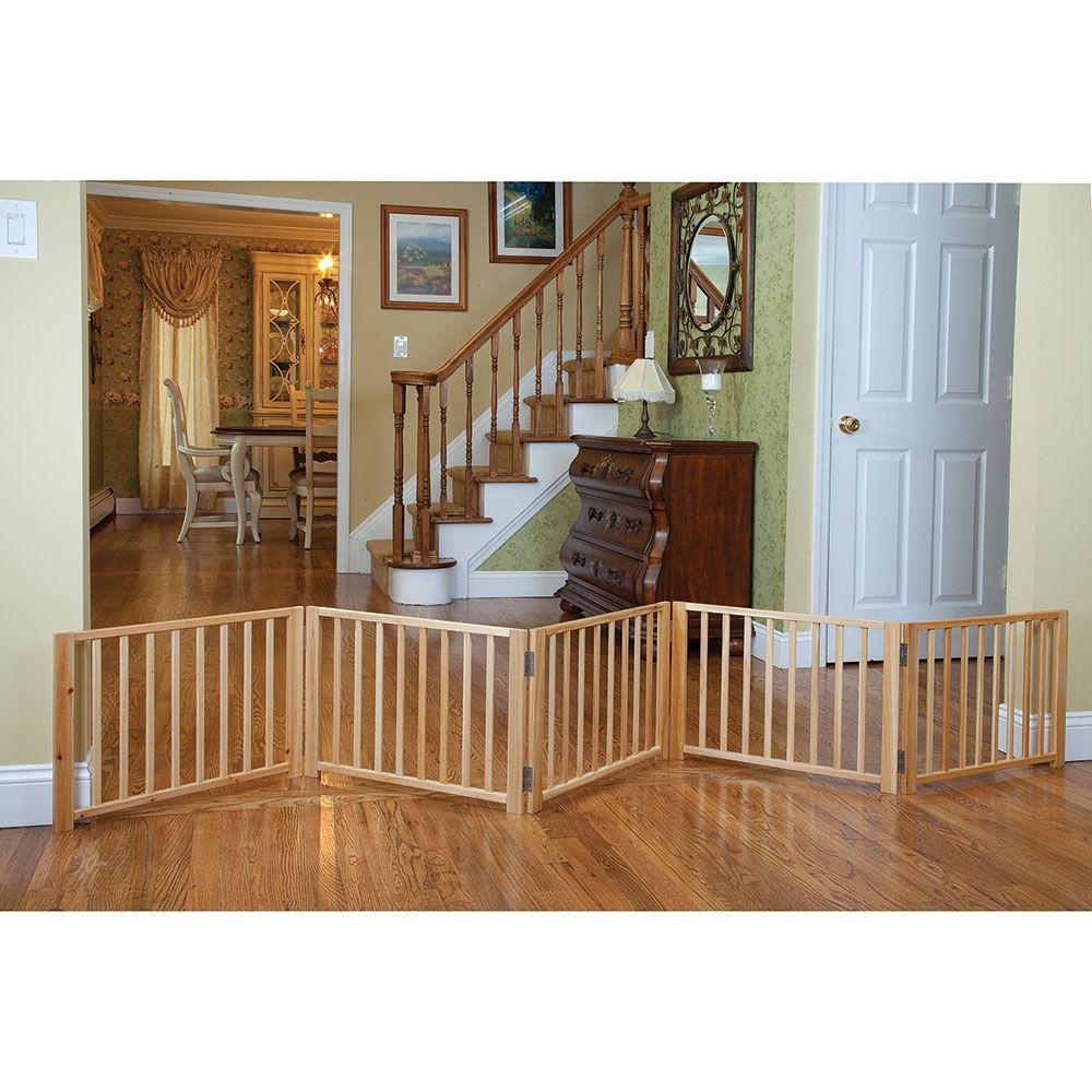 Free standing wood pet gate diy dog gate pet gate diy