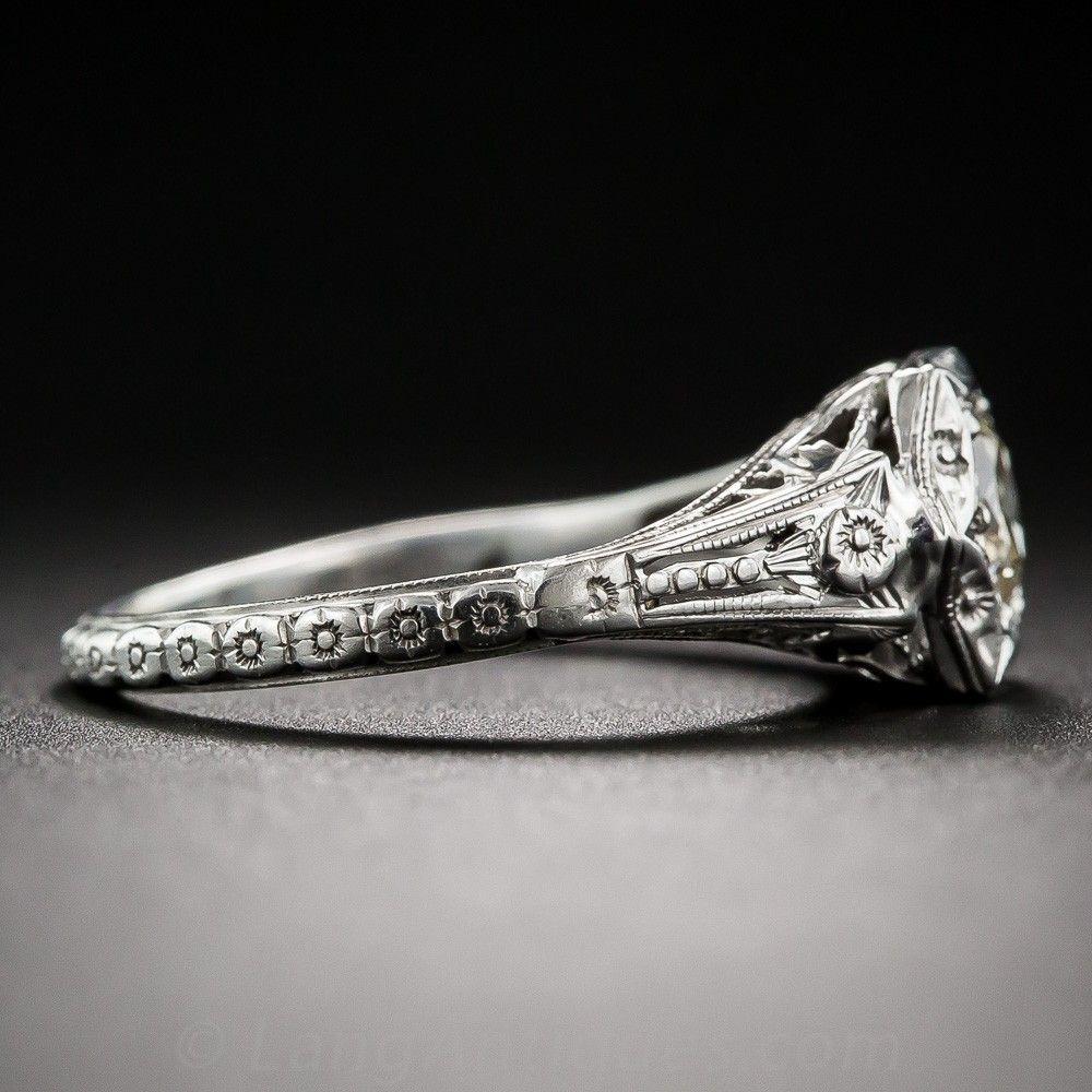 carat vintage diamond engagement ring vintage engagement rings