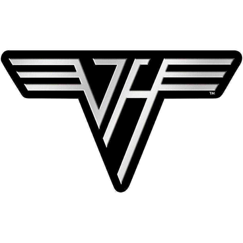 C D Visionary Van Halen Logo Metal Sticker Van Halen Logo Van Halen Van Halen Album Covers