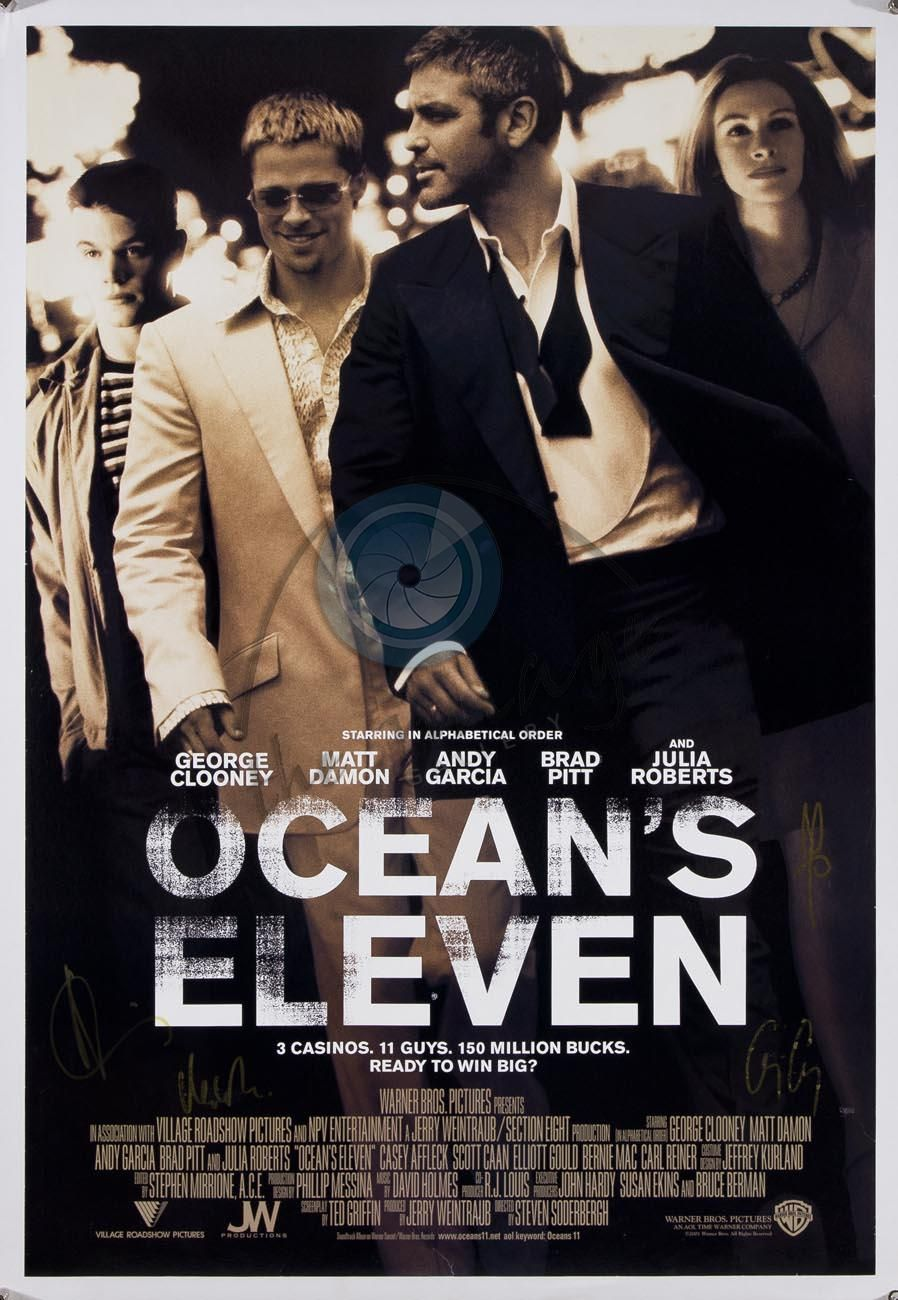 Steve Soderbergh | Ocean's Eleven | Fast-paced, witty, entertaining heist | Charming cast