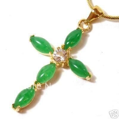 Jade jewelry of china real jade jewelry christmas green jade jade jewelry of china real jade jewelry christmas green jade pendant necklace cross amulet aloadofball Gallery