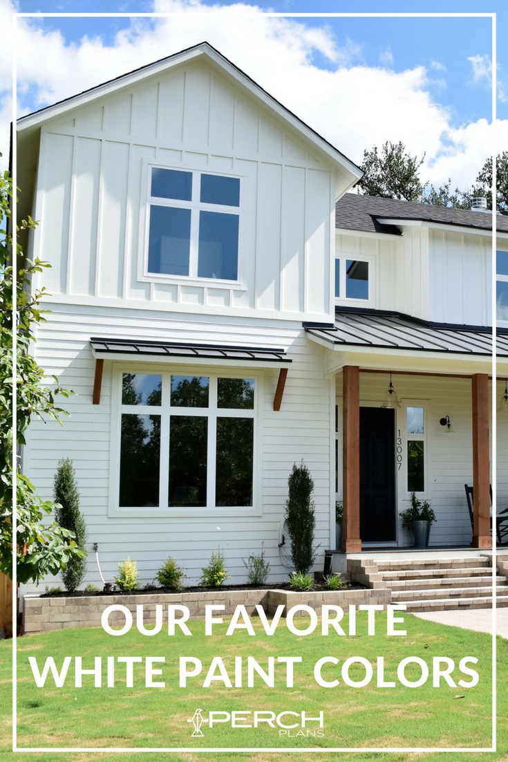 The Best White Modern Farmhouse Exterior Paint Colors Farmhouse Paint Colors Exterior White Exterior Paint Exterior Paint Colors For House