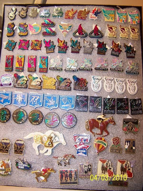 2019 Kentucky Derby Festival Pin Trading Event Pin