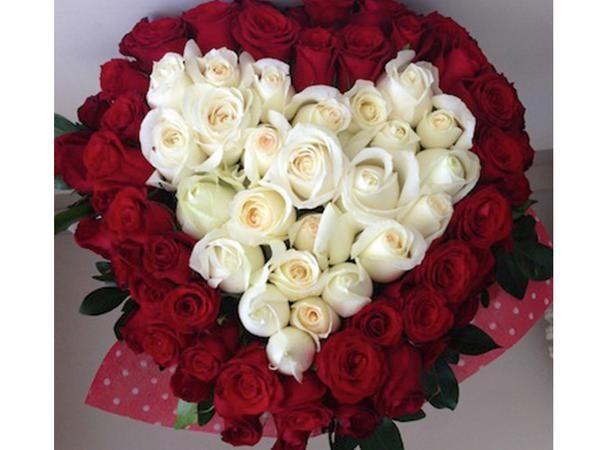 Ramo De Corazón Flower Arrangements Arreglo Floral Rosas