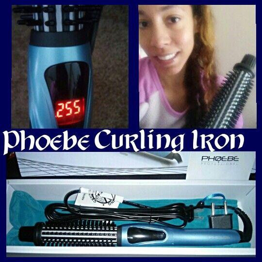 6f8594542c5  PHOEBE  Curling  Iron  Brush 1 Inch Dual Voltage  Ceramic  Tourmaline