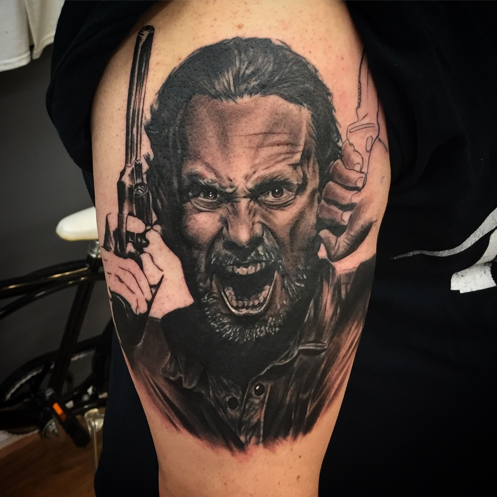 rick grimes the walking dead i did this week