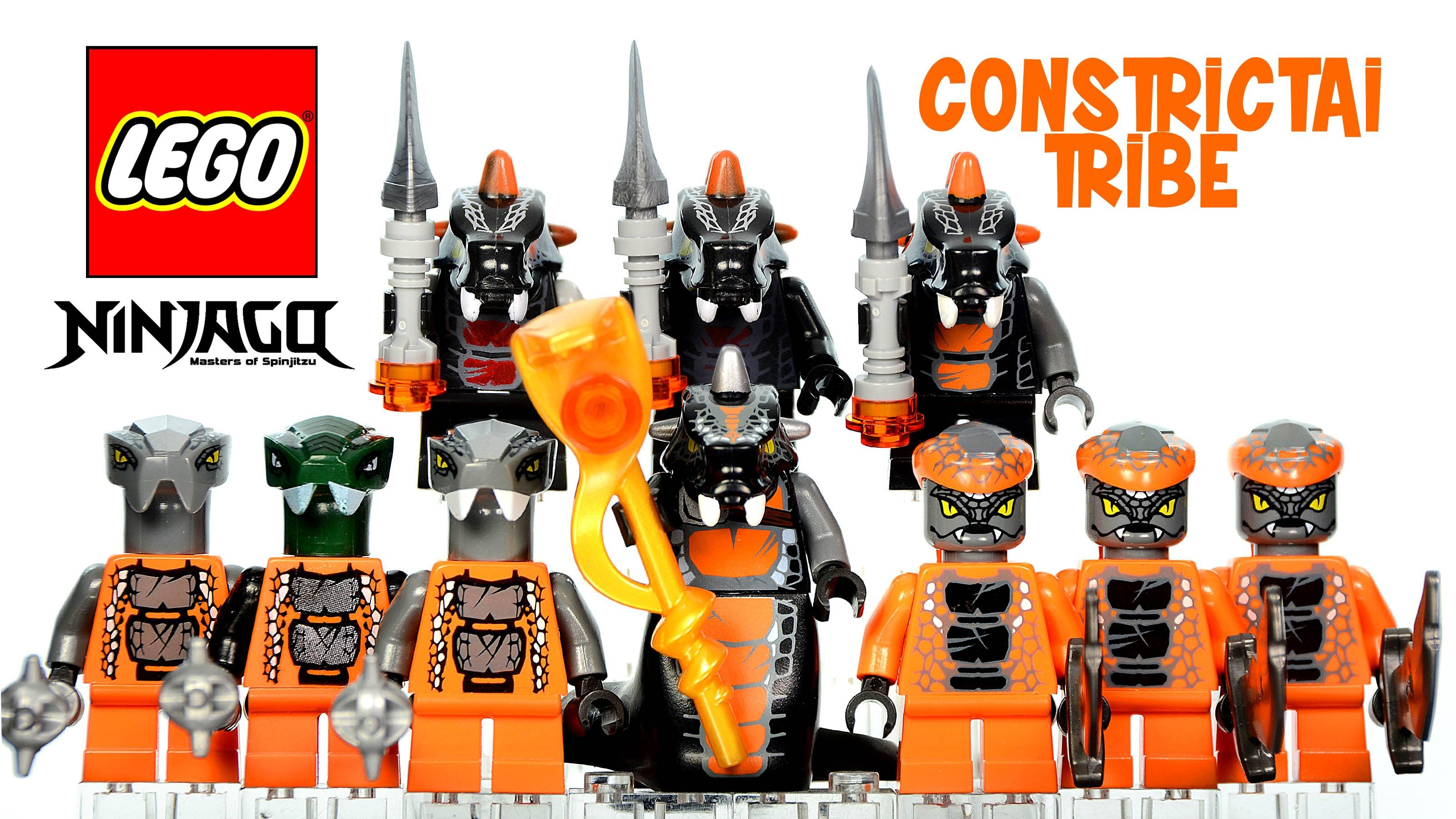 Lego Ninjago Rise Of The Snakes Serpentine Constrictai Tribe