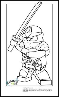 LEGO Ninjago Zane Coloring Pages | Ninjago coloring pages ...