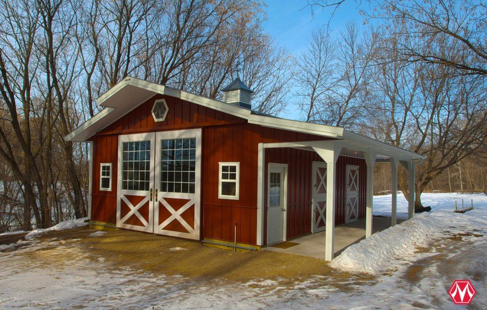 Morton Buildings Horse Barn In Minnesota Equestrian