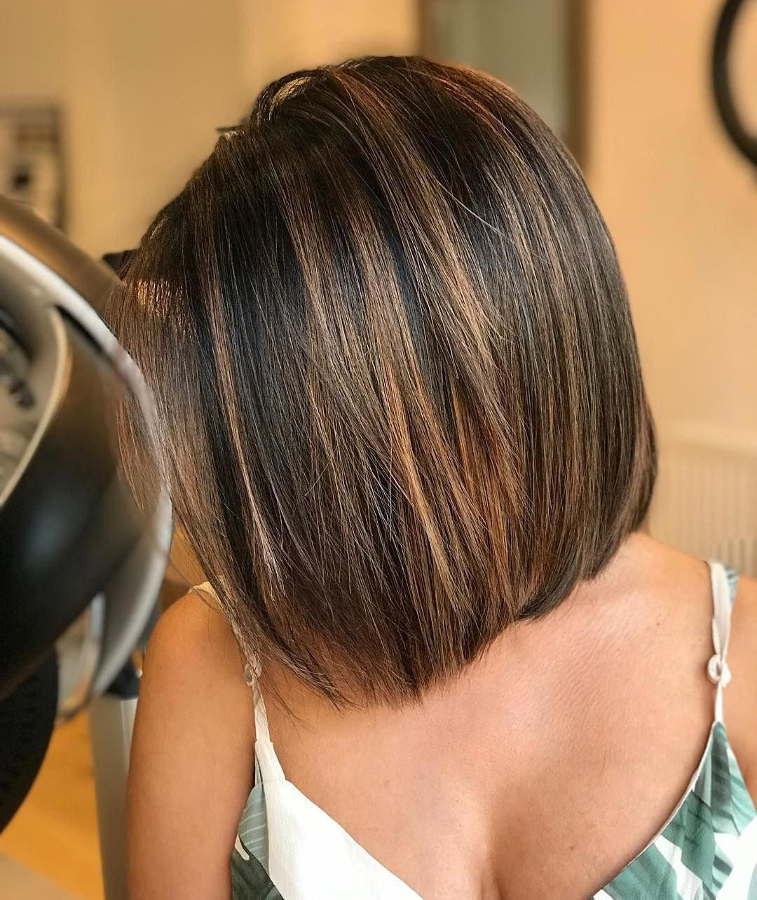 30 New And Modern Bob Haircuts To Copy This Year Bobhaircut2019 Modern Bob Haircut Bob Hairstyles Thick Hair Styles