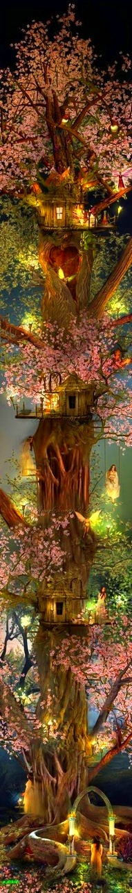 ✷fairies fantasy...even a great human fantasy. so pretty. Nature is true love.