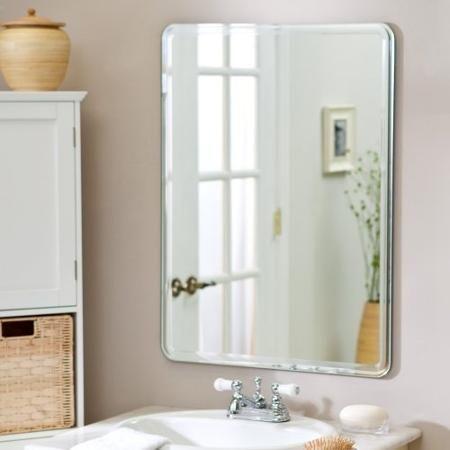 Decor Wonderland SSM1140 Samson Large Frameless Mirror