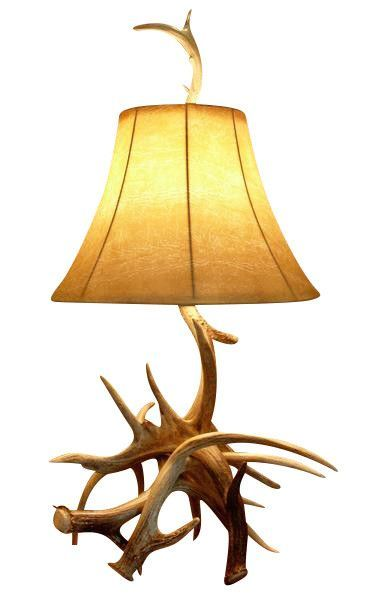 Whitetail Deer Antler Table Lamp SOLD OUT | Lamp, Table ...