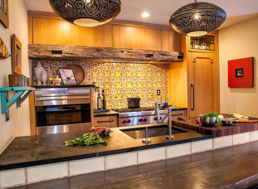 Maghreb 2 Kitchen Backsplash By Tabarka Studio. Designed by RAE ...